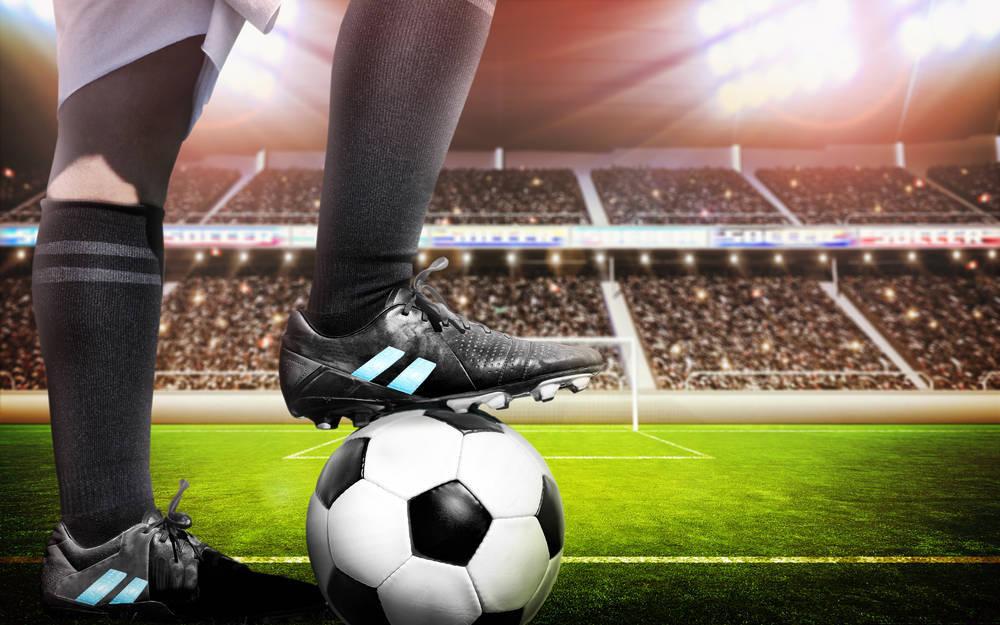 Las botas de los futbolistas