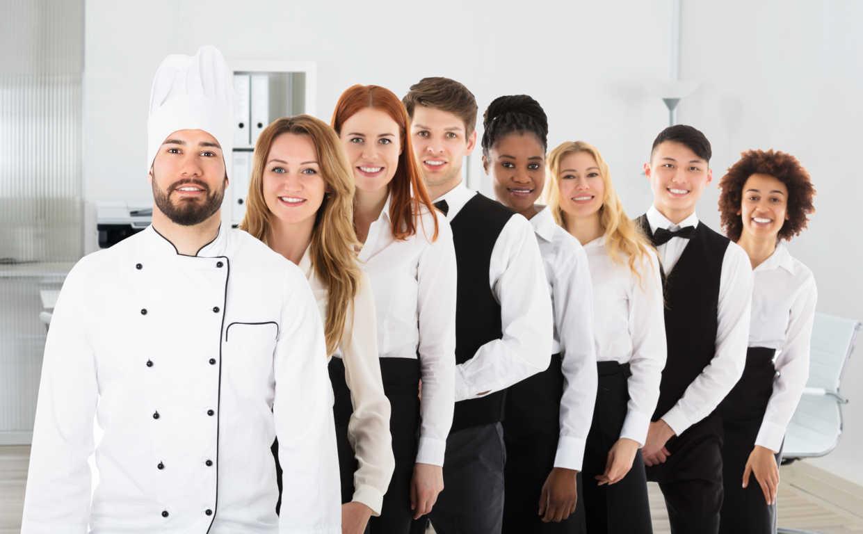Organización del trabajo en un hotel